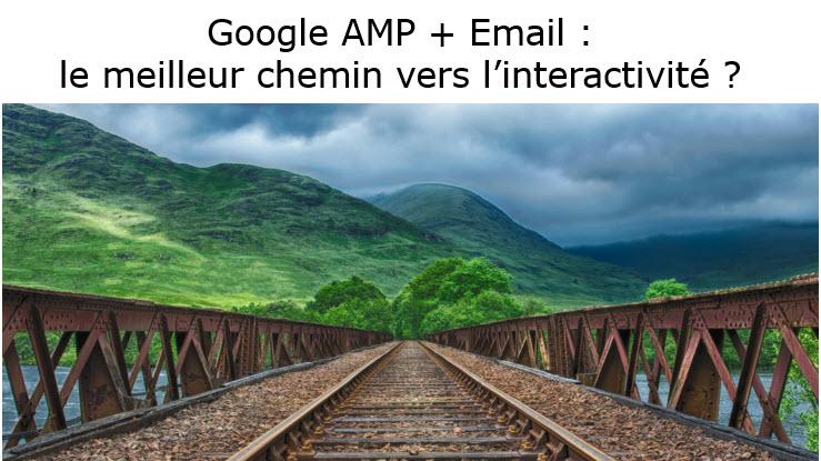AMP emailing quelle interactivité ?